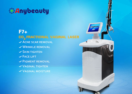 Pionowy Co2 Fractional Laser F7 Maszyna do usuwania plam Acne Fractional / Normal Mode